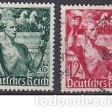Sellos: LOTE DE SELLOS ANTIGUOS DE ALEMANIA III REICH - JUVENTUDES - ESVASTICA - NAZI - WWII. Lote 283672778