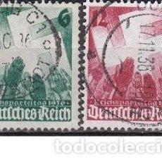 Sellos: LOTE DE SELLOS ANTIGUOS DE ALEMANIA III REICH - JUVENTUDES - ESVASTICA - NAZI - WWII. Lote 283672878