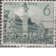 Sellos: LOTE DE SELLOS ANTIGUOS DE ALEMANIA III REICH - EDIFICIOS - CONSTRUCCIONES - ESVASTICA - NAZI - WWII. Lote 283673278