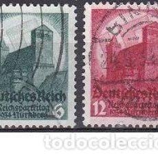 Sellos: LOTE DE SELLOS ANTIGUOS DE ALEMANIA III REICH - EDIFICIOS - CONSTRUCCIONES - ESVASTICA - NAZI - WWII. Lote 283673438
