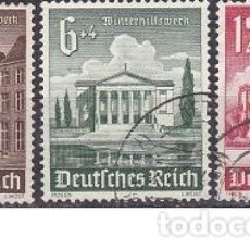 Sellos: LOTE DE SELLOS ANTIGUOS DE ALEMANIA III REICH - EDIFICIOS - CONSTRUCCIONES - ESVASTICA - NAZI - WWII. Lote 283673523