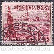 LOTE DE SELLOS ANTIGUOS DE ALEMANIA III REICH - BARCOS - ESVASTICA - NAZI - WWII (Sellos - Extranjero - Europa - Alemania)
