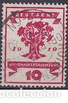 LOTE DE SELLOS ANTIGUOS DE ALEMANIA REICH - 1919 (Sellos - Extranjero - Europa - Alemania)