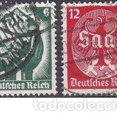 Sellos: LOTE DE SELLOS ANTIGUOS DE ALEMANIA III REICH - OCUPACION - EL SARRE - NAZI - WWII. Lote 283675453