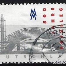 Sellos: ALEMANIA 1997 - 5º CENTENARIO DEL PRIVILEGIO FORAL DE LEIPZIG - USADO. Lote 286188038