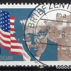 Sellos: ALEMANIA 1997 - 50º ANIVERSARIO DEL PLAN MARSHALL - USADO. Lote 286188388