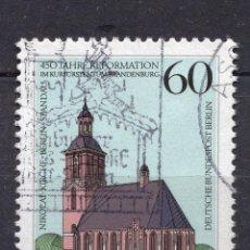 Sellos: BERLIN, 1989 , MICHEL 855. Lote 288392308