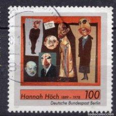 Sellos: BERLIN, 1989 , MICHEL 857. Lote 288392343
