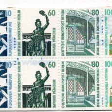 Sellos: BERLIN, 1989 , MICHEL BOOKLET HB 23. Lote 288392633