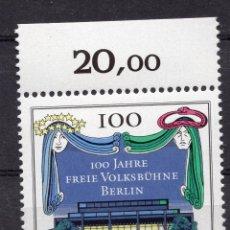 Sellos: BERLIN, 1990 , MICHEL 866. Lote 288392978