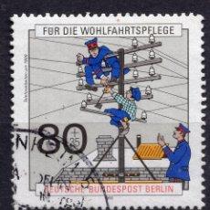 Sellos: BERLIN, 1990 , MICHEL 877. Lote 288393083