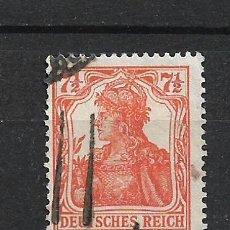 Sellos: ALEMANIA REICH 1916 MICHEL 99 USADO - 15/33. Lote 288479878