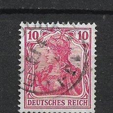 Sellos: ALEMANIA REICH 1902 MICHEL 71 USADO - 15/39. Lote 288665668