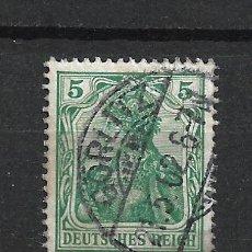 Sellos: ALEMANIA REICH 1902 MICHEL 70 USADO - 15/39. Lote 288665963