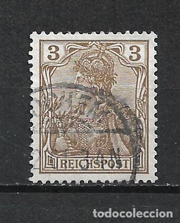 ALEMANIA REICH 1900 MICHEL 54 B USADO 11€ MARRÓN ANARANJADO - 15/39 (Sellos - Extranjero - Europa - Alemania)