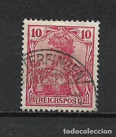 ALEMANIA REICH 1900 MICHEL 56 USADO - 15/39 (Sellos - Extranjero - Europa - Alemania)
