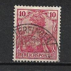 Sellos: ALEMANIA REICH 1900 MICHEL 56 USADO - 15/39. Lote 288667548