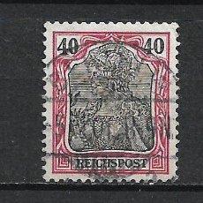 Sellos: ALEMANIA REICH 1900 MICHEL 60 USADO - 15/39. Lote 288668378
