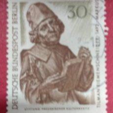 Sellos: ALEMANIA BERLIN 1967. TESOROS DE ARTE EN LOS MUSEOS DE BERLÍN. : MI:DE-BE 305,. Lote 288732738