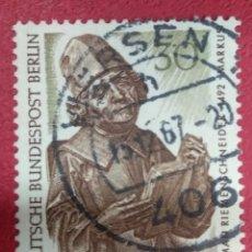 Sellos: ALEMANIA BERLIN 1967. TESOROS DE ARTE EN LOS MUSEOS DE BERLÍN. : MI:DE-BE 305,. Lote 288732798
