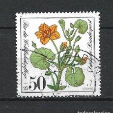 Sellos: ALEMANIA 1981 SELLO USADO - 15/65. Lote 289529623