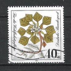 Sellos: ALEMANIA 1981 SELLO USADO - 15/65. Lote 289529628