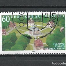 Sellos: ALEMANIA 1987 SELLO USADO - 15/65. Lote 289529918