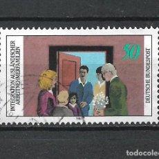 Sellos: ALEMANIA 1981 SELLO USADO - 15/65. Lote 289530198