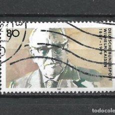Sellos: ALEMANIA 1987 SELLO USADO - 15/65. Lote 289530218