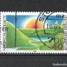Sellos: ALEMANIA 1980 SELLO USADO - 15/65. Lote 289530228