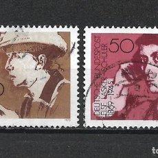 Sellos: ALEMANIA 1975 USADO - 20/24. Lote 289840598