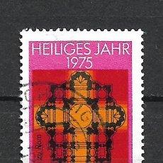 Sellos: ALEMANIA 1975 USADO - 20/24. Lote 289840668
