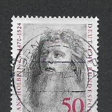 Sellos: ALEMANIA 1974 USADO - 20/24. Lote 289840748