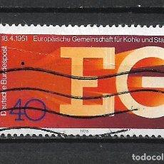 Sellos: ALEMANIA 1976 USADO - 20/24. Lote 289840828