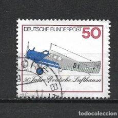 Sellos: ALEMANIA 1976 USADO - 20/24. Lote 289841063