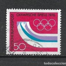 Sellos: ALEMANIA 1976 USADO - 20/24. Lote 289841118