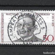 Sellos: ALEMANIA 1975 USADO - 20/24. Lote 289841418