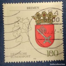 Sellos: ALEMANIA 1992. Lote 289866268