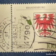 Sellos: ALEMANIA 1992. Lote 289871863