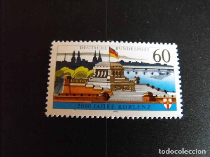 ALEMANIA FEDERAL. SERIE COMPLETA. Nº 1415. YVERT. 1992. MNH**. (Sellos - Extranjero - Europa - Alemania)
