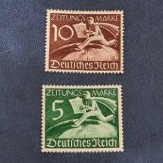 Sellos: SELLO ALEMANIA NAZI YVERT 738/39 NUEVOS GOMA. Lote 294968288