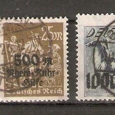 Sellos: ALEMANIA IMPERIO.1923. YT 251,251A,251B.. Lote 296578668