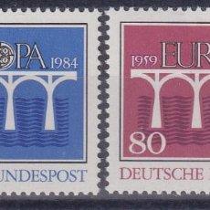 Sellos: ALEMANIA FEDERAL 1042/3 EUROPA CEPT. Lote 296696338