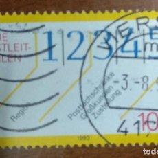 Sellos: ALEMANIA 1993 SELLO USADO.. Lote 296753508