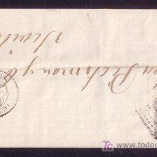 Sellos: ESPAÑA.(CAT.204).1879.CARTA DE GRANADA A SEVILLA.25 C.MAT. R. DE PUNTOS.FECHADOR TRÉBOL GRANADA.. Lote 25358751