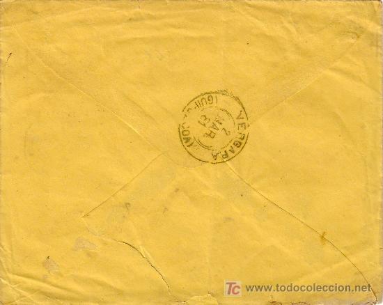Sellos: DORSO FECHADOR DE TRÉBOL DE VERGARA - Foto 2 - 23396303