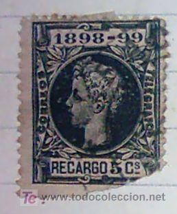 SELLO ALFONSO XII (Sellos - España - Alfonso XII de 1.875 a 1.885 - Usados)