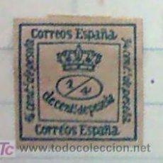 Sellos: REINADO DE ALFONSO XII - 1876 - 1 JULIO CORONA REAL. Lote 15881986
