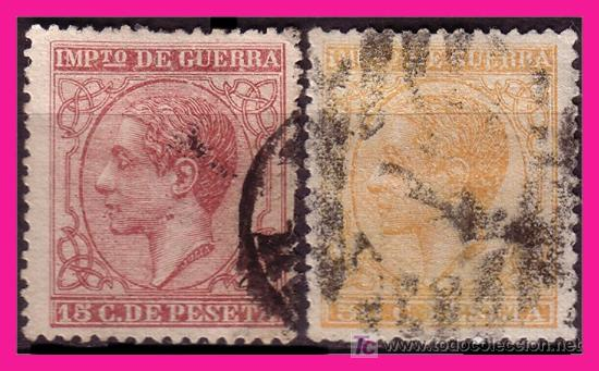 1877 ALFONSO XII, SERIE COMPLETA (O) (Sellos - España - Alfonso XII de 1.875 a 1.885 - Usados)