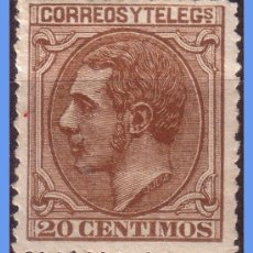 Sellos: 1879 ALFONSO XII, Nº 203 . Lote 9490427